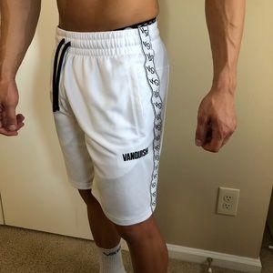 Vanquish VQ White Athletic Shorts